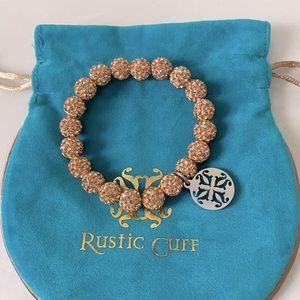Rustic Cuff Emerson Bracelet in Rose Gold